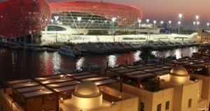 formula one world championship formula one paddock club abu dhabi view of abu dhabi grand prix experiences quintevents